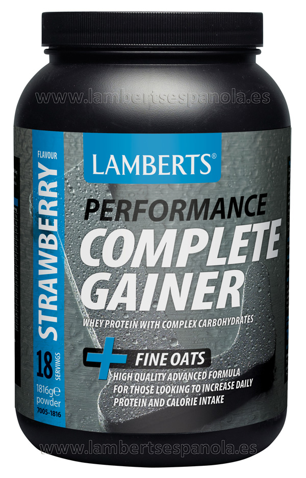 Complete Gainer strwberry flavour Lamberts