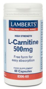 Carnitine: L-Cartinine Lamberts