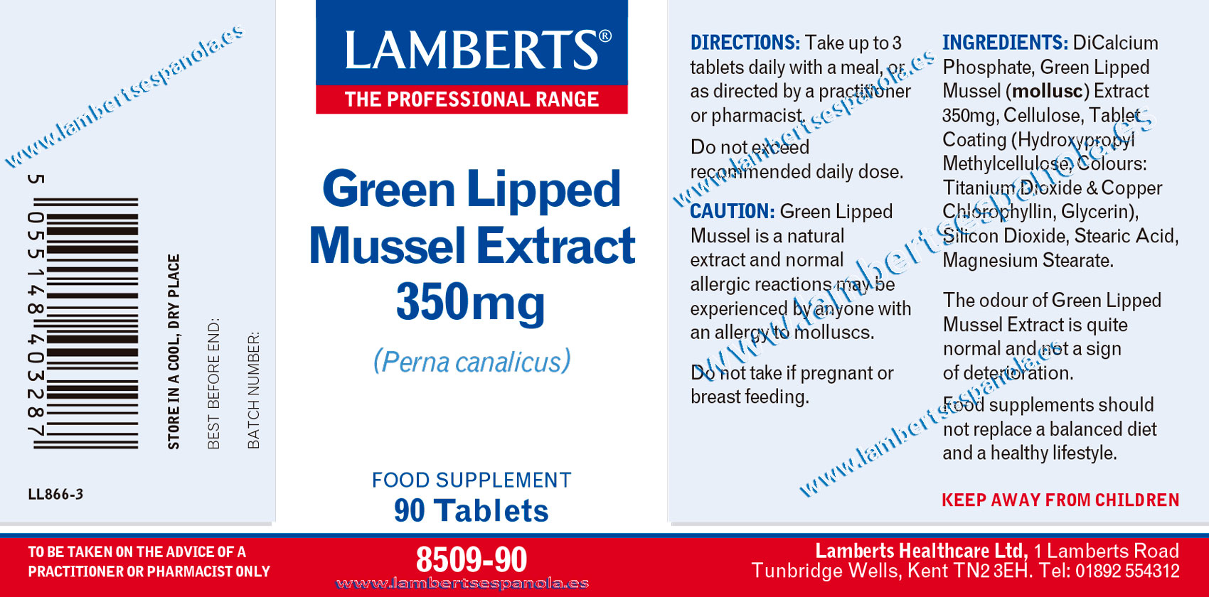 Green Lipped Mussel extract properties