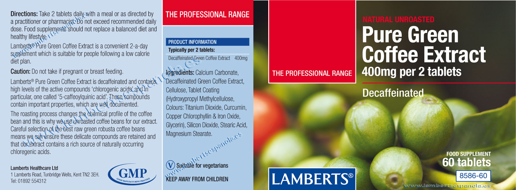 lamberts green coffe properties