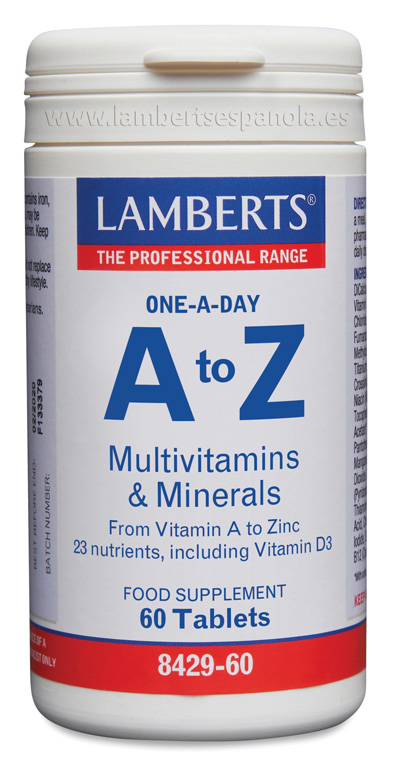 A-Z Multivitamins and Minerals Lamberts