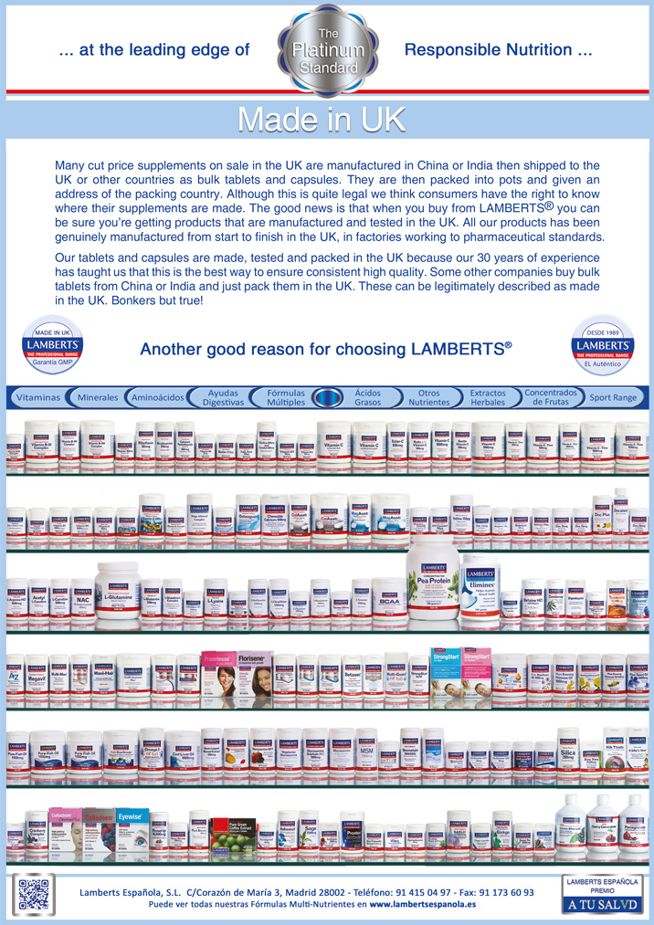 LAMBERTS® Products Made in UK