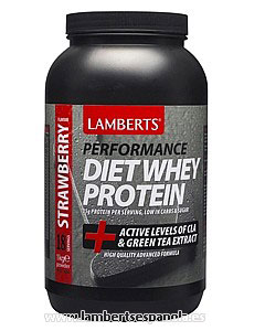 Diet Whey Protein Strawberry flavour Lamberts