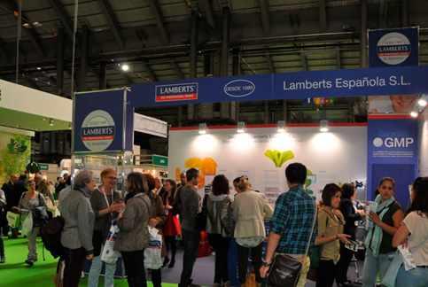 Expo Salud 2015 Barcelona- Stand Lamberts