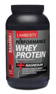 Whey Protein Banana flavour Lamberts
