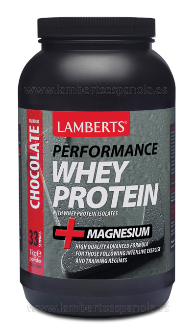 Whey Protein Chocolate flavour Lamberts