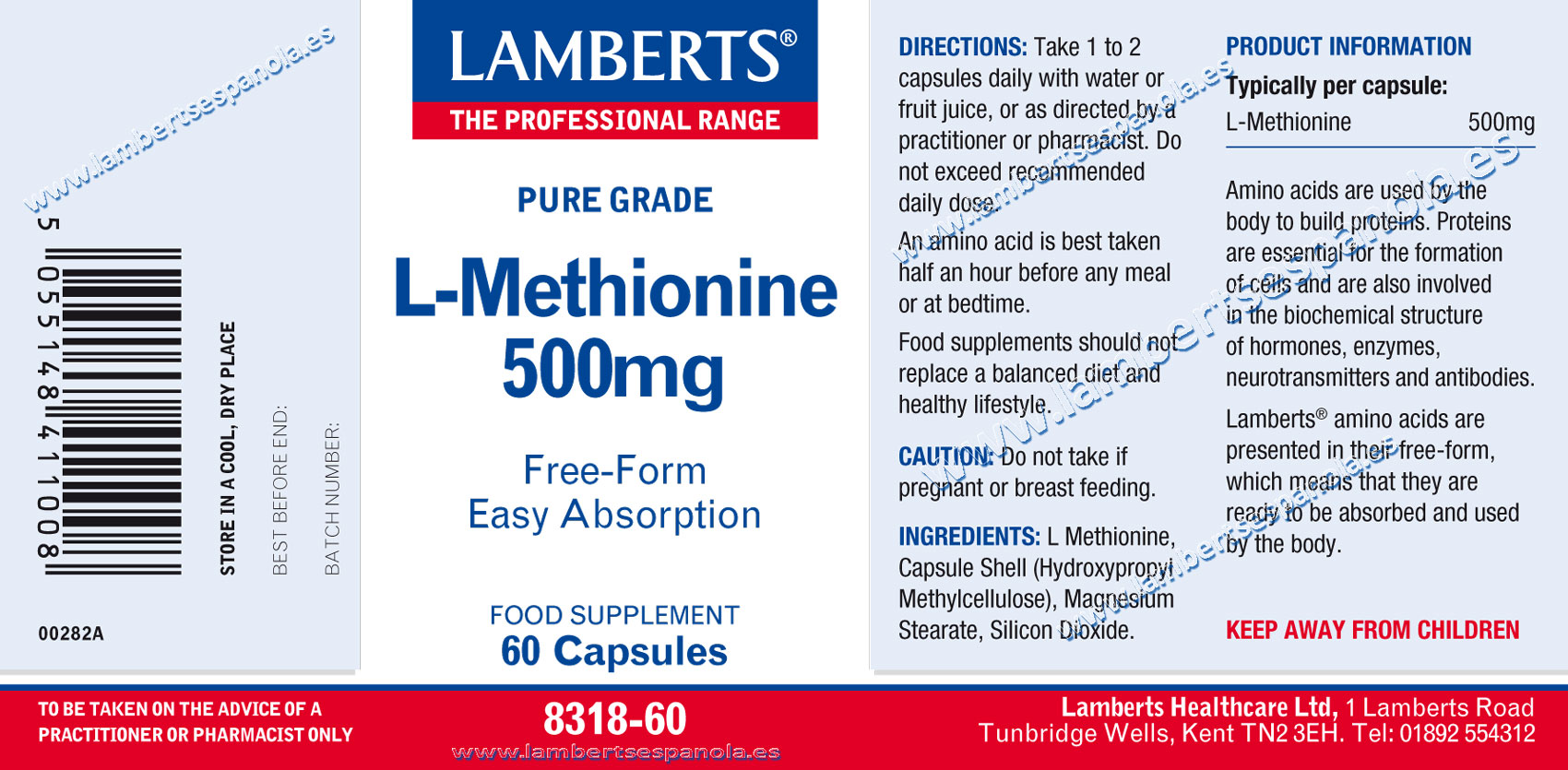 L-Methionine properties