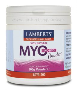 MYO Inositol: powder Lamberts