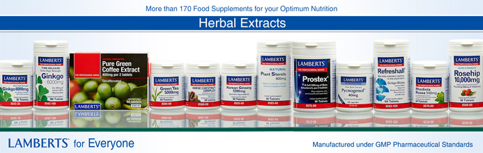 Lamberts extract herbals supplements II