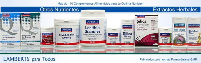 Lamberts supplementos otros nutrientes y extractos herbales